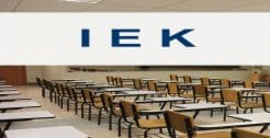 Ινστιτούτα Επαγγελματικής Κατάρτισης (ΙΕΚ)